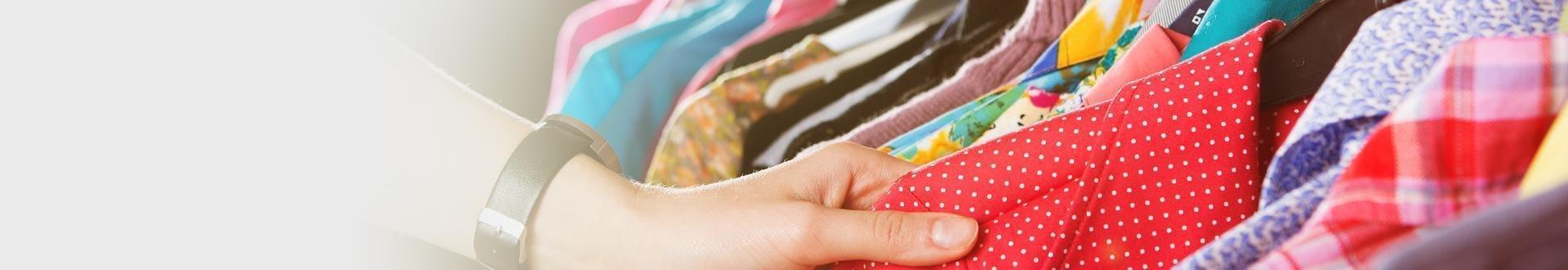 Szeroki wybór odzieży używanej